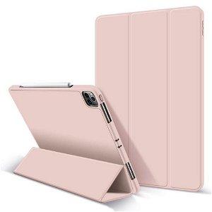 "iPad Pro 12.9"" (2021 / 2020) / (2018) Tech-Protect SC Tri-fold Cover - Lyserød"