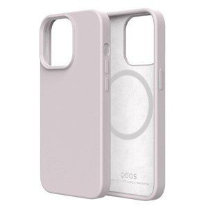 QDOS iPhone 13 Pro Touch Pure SNAP Bagside Cover - MagSafe Kompatibel - White Sand