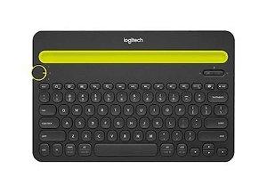 LOGITECH K480 Bluetooth Multi-Device Nordic Keyboard - Sort