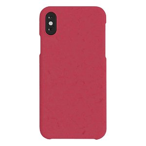 A Good Company iPhone X / XS 100% Plantebaseret Cover - Pomegrante Red
