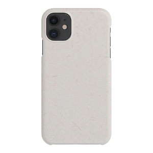 A Good Company iPhone 11 100% Plantebaseret Cover - Vanilla White