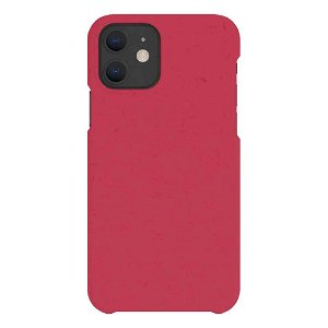A Good Company iPhone 12 Mini 100% Plantebaseret Bagside Cover - Pomegranate Red