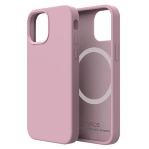 QDOS iPhone 13 Mini Touch Pure SNAP Bagside Cover - MagSafe Kompatibel - Pink