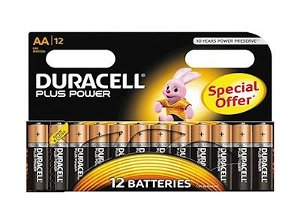 DURACELL Plus Power AA 12pk Special Offer