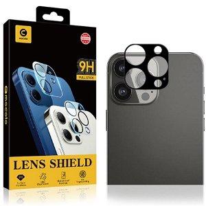 iPhone 13 Pro MOCOLO Beskyttelsesglas til Bagside Kameralinse - Case Friendly - Sort
