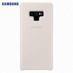 Original Samsung Galaxy Note 9 Silicone Cover EF-PN960TW Hvid