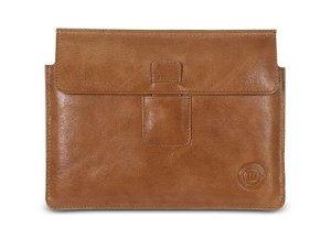 dbramante1928 Leather Envelope for Notebook 15''- Golden Tan
