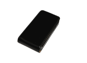 Samsung Galaxy S2 Fashion Flip Etui - Sort