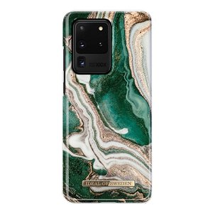 iDeal Of Sweden Samsung Galaxy S20 Ultra Cover Fashion Case Golden Jade Marble