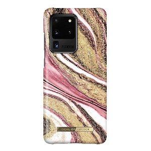 iDeal Of Sweden Samsung Galaxy S20 Ultra Fashion Case Cosmic Pink Swirl