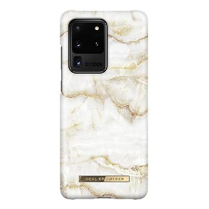 iDeal Of Sweden Samsung Galaxy S20 Ultra Fashion Case Golden Pearl Marble