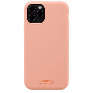 Holdit iPhone 11 Pro Soft Touch Silikone Cover - Pink Peach