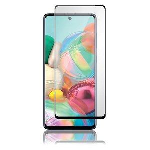 Samsung Galaxy A72 5G PANZER Premium Full-Fit Glass - Sort Ramme