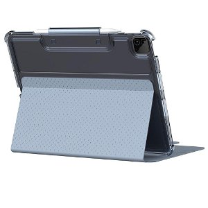"UAG [U] Lucent Series Cover - iPad Pro 12.9"" (2021 / 2020) - Blue / Gennemsigtig"