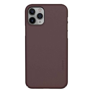 Nudient Thin Case V3 iPhone 11 Pro Bagside Cover - Sangria Red