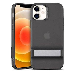 iPhone 12 Mini ESR Air Shield Boost Cover m. Kickstand - Sort