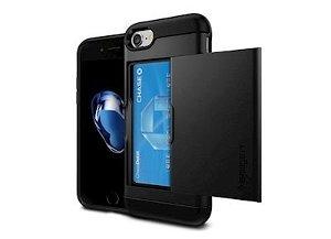 SPIGEN Slim Armor CS Cover iPhone 7 - Sort