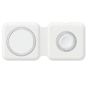 Original Apple MagSafe Trådløs Duo-Oplader MHXF3ZM/A 20W - Hvid