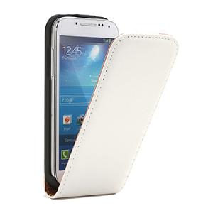 Samsung Galaxy S4 Mini Flip Etui - Hvid