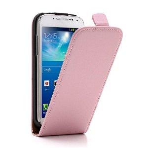 Samsung Galaxy S4 Mini Flip Etui - Pink