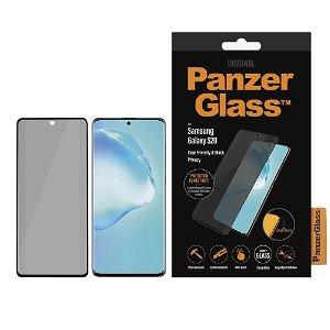PanzerGlass Privacy Samsung Galaxy S20 Panserglas Sort - Case Friendly