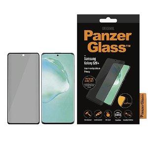 PanzerGlass Privacy Samsung Galaxy S20+ (Plus) Panserglas Sort - Case Friendly