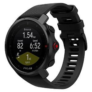 Polar GRIT X Fitness Smartwatch m. GPS, Barometer & Pulsmåler M/L - Sort