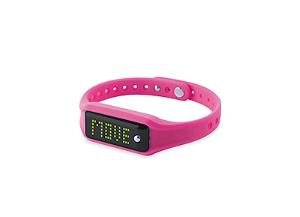 PURO Smartband Fitness/Sleep Tracker - Pink/Sort