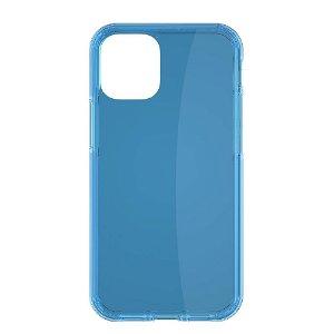 iPhone 12 Mini QDOS Hybrid Neon Cover Blå