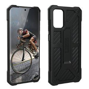 UAG MONARCH Series Samsung Galaxy S20+ (Plus) Cover Carbon - Sort