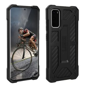 UAG MONARCH Series Samsung Galaxy S20 Cover Carbon - Sort