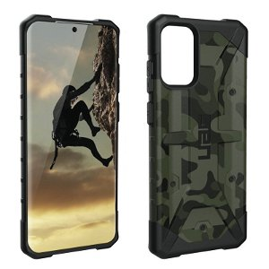 UAG PATHFINDER Series Samsung Galaxy S20+ (Plus) Plastik Cover - Forest Camo