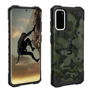 UAG PATHFINDER Series Samsung Galaxy S20 Plastik Cover - Forest Camo