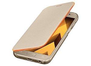 SAMSUNG Galaxy A3 (2017) Neon Flip Cover - Guld