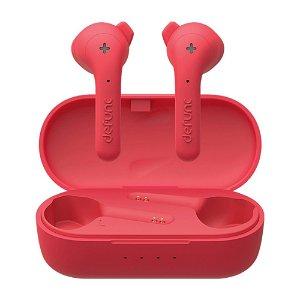Defunc True Basic Bluetooth Hovedtelefoner m. Opladningsetui - Rød