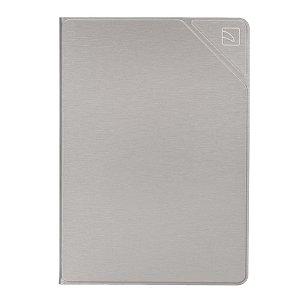 "iPad 10.2"" (2021 / 2020 / 2019) Tucano Metal Folio Cover & Apple Pencil Holder - Sølv"