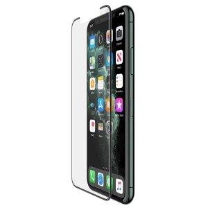 iPhone 11 / XR Belkin InvisiGlass UltraCurve Skærmbeskyttelse - Case Friendly - Sort Ramme